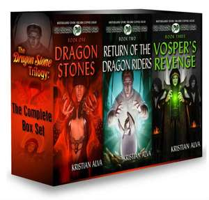 E-books Trilogie Dragon Stone - The Complete Box Set: Dragon Stones, Return of the Dragon Riders, Vosper's Revenge gratuite (Format Kindle - En Anglais)