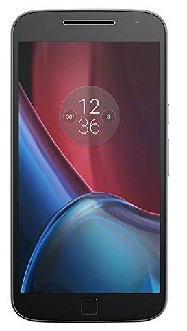 "Smartphone 5.5"" Lenovo Moto G4 Plus - full HD, SnapDragon 617, 2 Go de RAM, 16 Go, blanc ou noir"