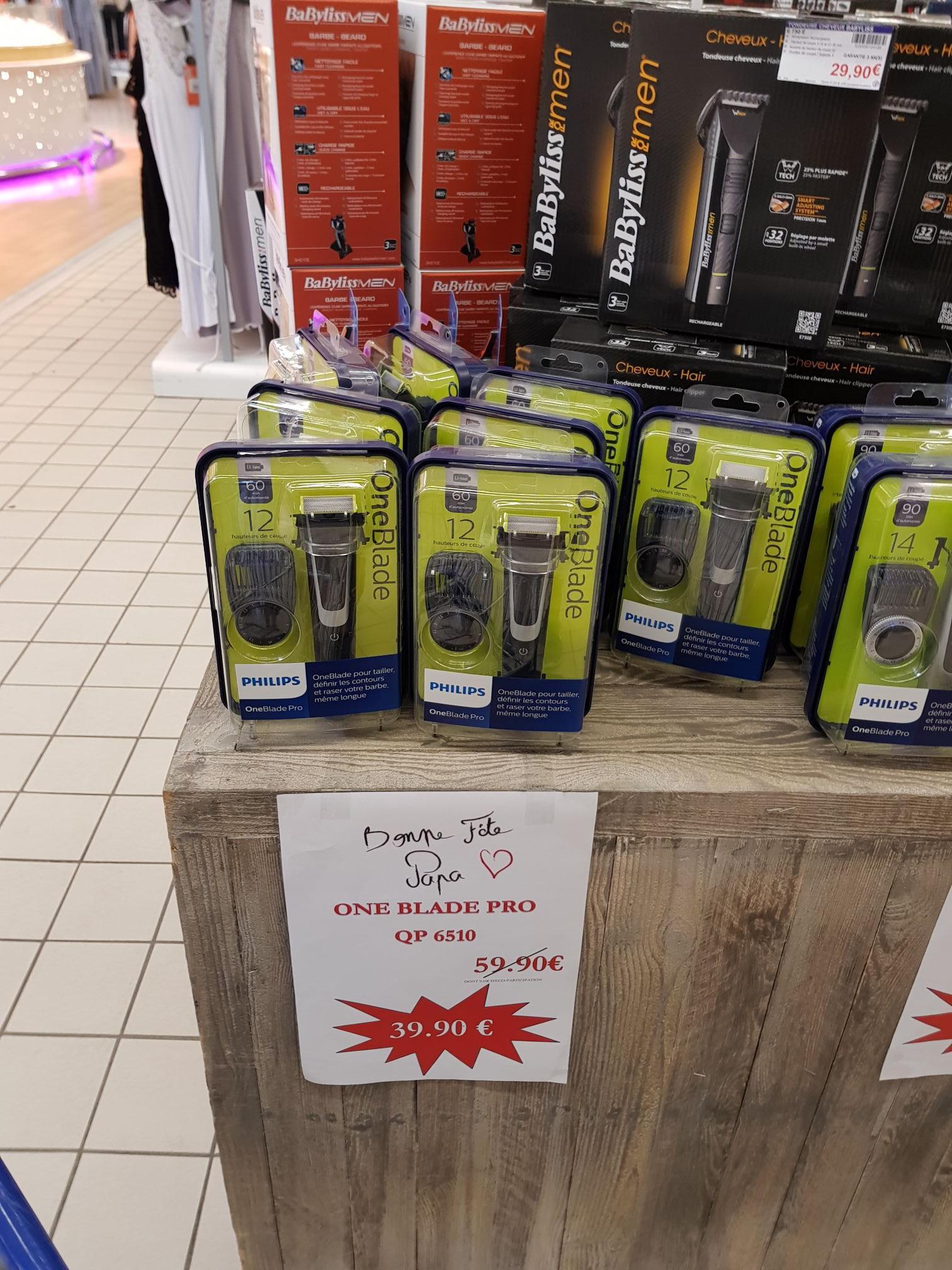 Rasoir électrique One blade Pro q6510