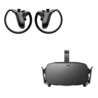 Casque de réalité virtuelle PC Oculus Rift + Manettes Oculus Touch + 100€ sur l'Oculus Store + 7 jeux offerts