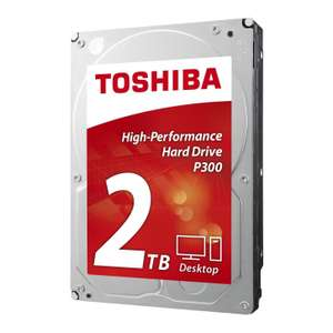 "Disque dur interne 3.5"" Toshiba P300 - 2 To (64 Mo, 7200 tours/min)"