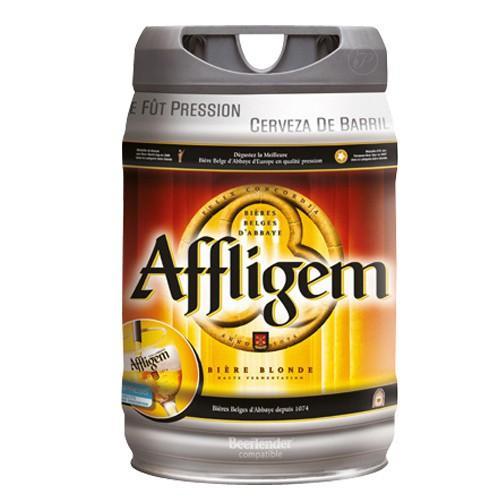 Fût de bière belge BeerTender Affligem - 5 L