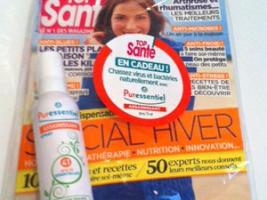 Spray assainissant Puressentiel 41 (75ml) + Magazine Top Santé Décembre N°279