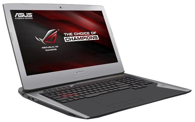 "PC Portable Ultrabook 17.3"" Asus G752VM-GC052T - Full HD, i7, RAM 16Go, 1To, GTX 1060, Windows 10"