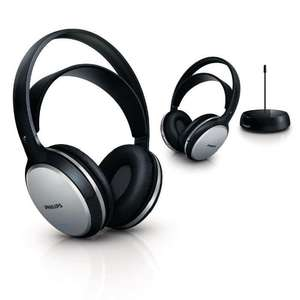 Duo Casque sans fil TV Philips SHC5102  (via ODR 20%)