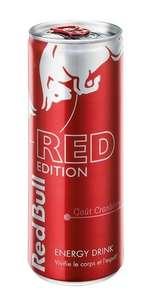 2 canettes Red Bull Editions (via Shopmium)