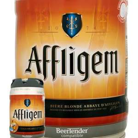 Fut de Bière Blonde Belge Affligem 6.7° (5L)