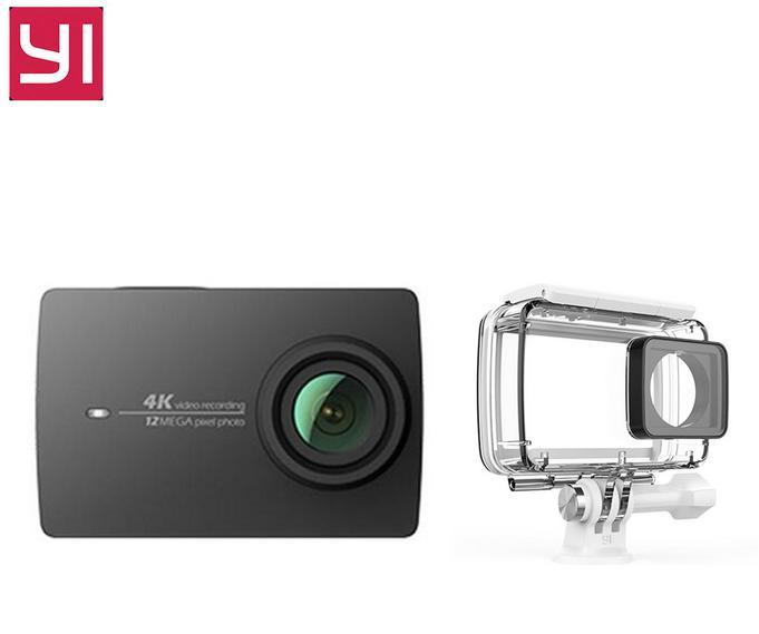 Caméra sportive Yi II 4K et son caisson étanche