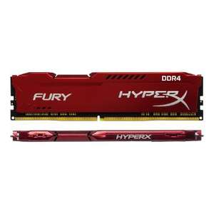 Kit mémoire DDR4 HyperX Fury Red 16 Go (2x8 Go) - 2400 MHZ, Cas 15