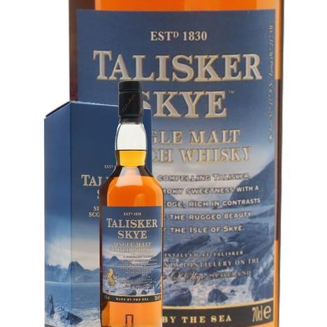 Bouteille de Whisky Talisker Skye -70 cl (via 5€ sur la carte)