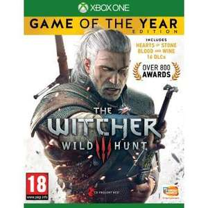 The Witcher 3: Wild Hunt - Game of the Year Edition sur Xbox One et PS4