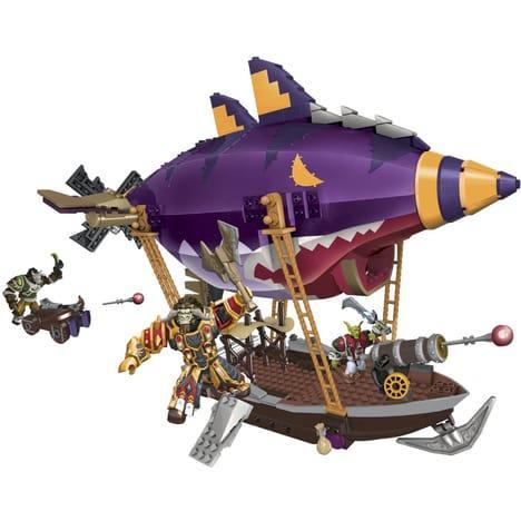 Megablocks Zeppelin Gobelin World of Warcraft