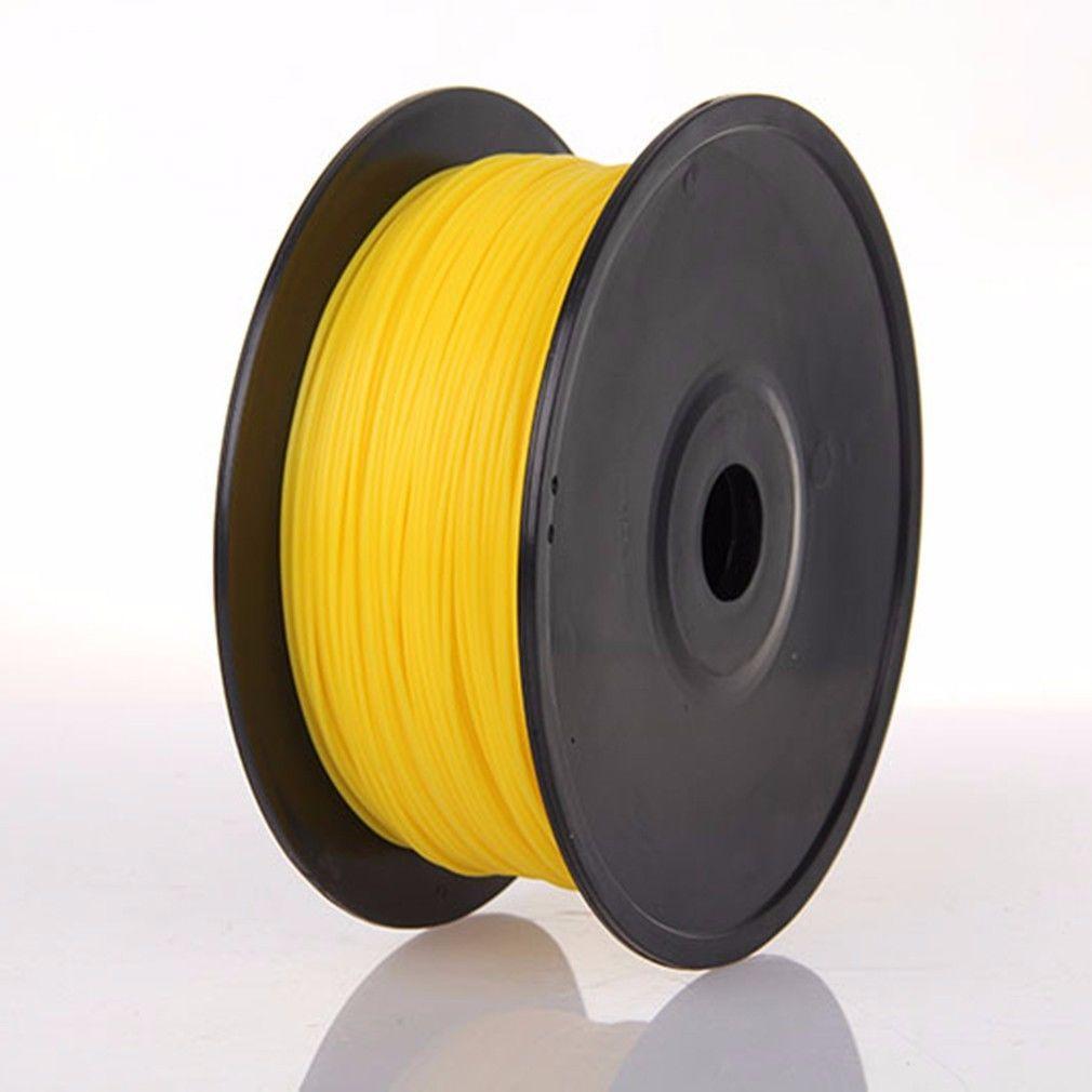 Bobine de Filament Jaune en PLA pour Impression 3D - 1Kg en 1.75mm