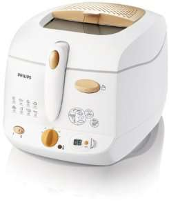 Friteuse Philips HD6159/55 Cuve amovible 1.3 kg blanc/orange