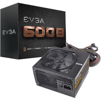 Alimentation PC EVGA 600B - 600W, 80 Plus Bronze