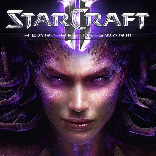 Sélection de jeux Starcraft en promotion - Ex: StarCraft II: Heart of the Swarm sur PC (Dématérialisé)