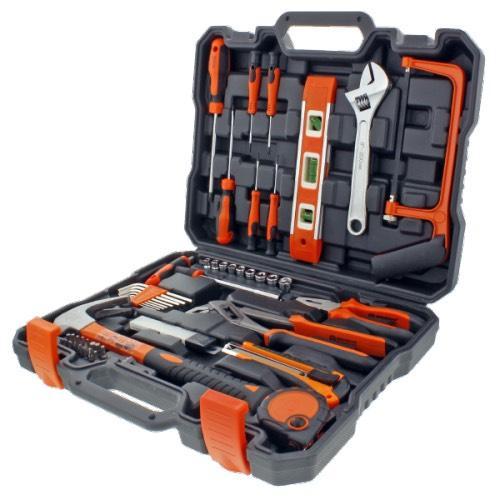 Mallette de rangement + 50 outils et accessoires Werckmann