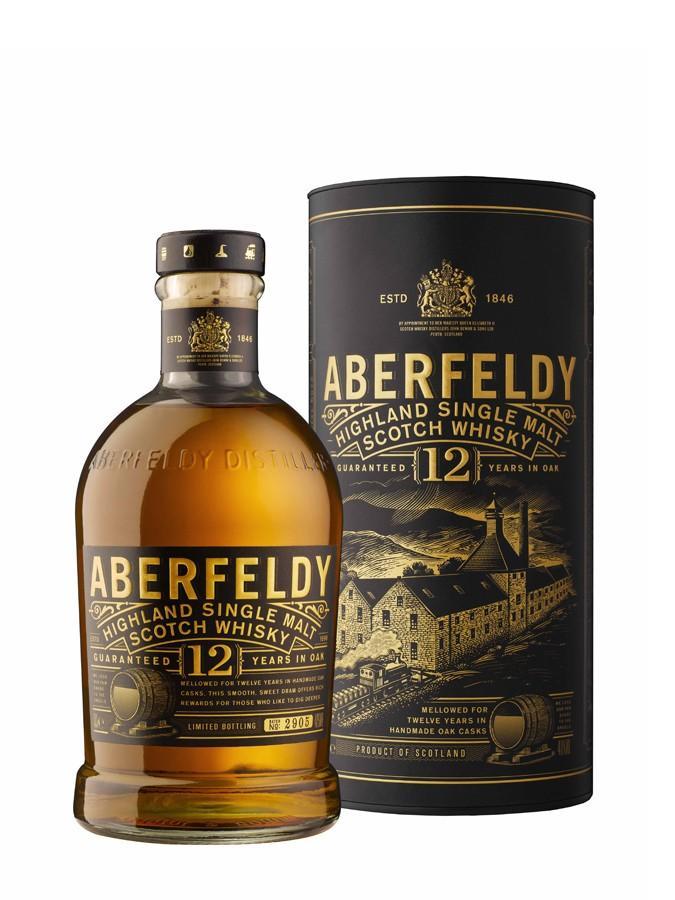 Bouteille de Whisky Aberfeldy 12 ans (via 8.90€ sur la carte)