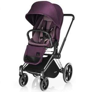 Poussette Cybex Priam Princess Pink + Siège Luxe