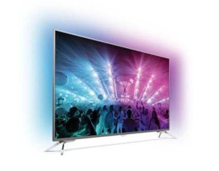 TV 55' Philips 55PUS7101/12 - 4K, Ambilight