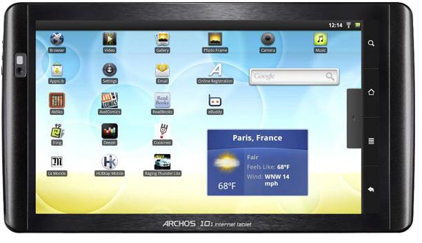 """Tablette Archos 101 IT 10"""" Tablet PC / livraison gratuite"""