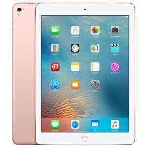 "Sélection de produits Apple en promo : Ex : Tablette 9.7"" Apple iPad Pro Wifi + 4G - 128 Go, Or Rose"