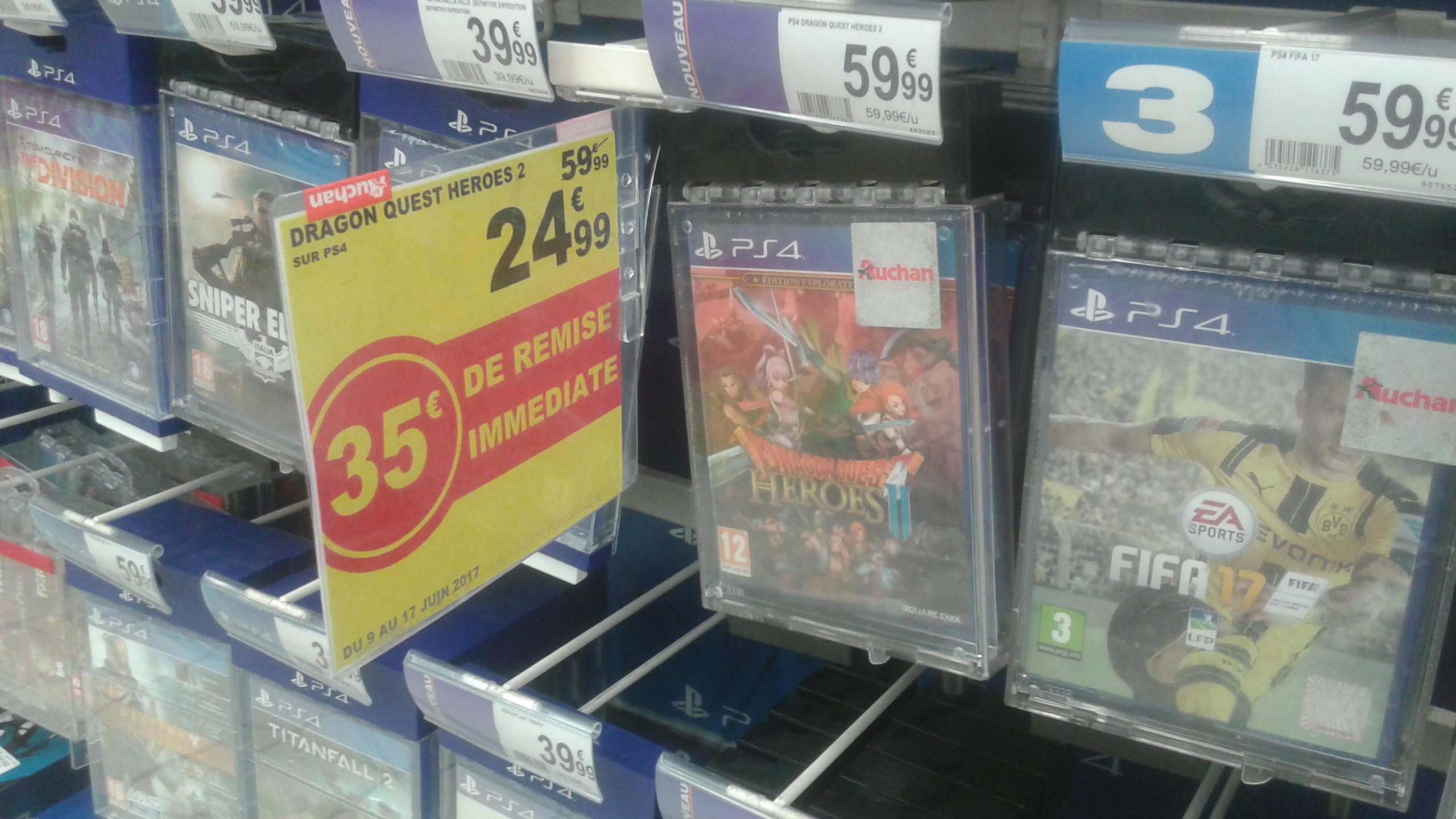 Sélection de jeux PS4 en promotion - Ex : Dragon Quest Heroes 2