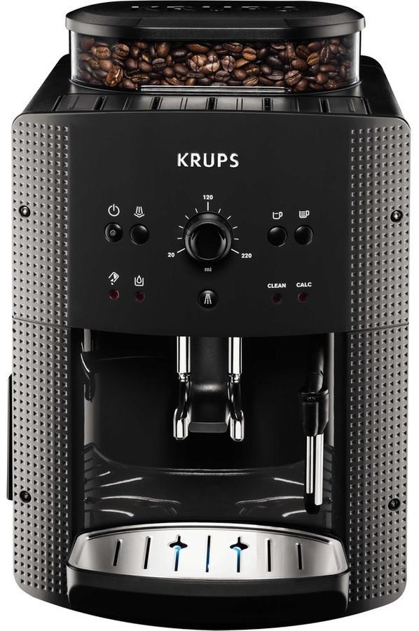 Machine à Expresso avec broyeur Krups EA810B70 Full Auto Compact Manuel - Gris (via Click&Collect) + 20€ offerts en carte cadeau