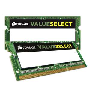 RAM Corsair Value Select DDR3L - 8 Go (2 x 4 Go) SO DIMM