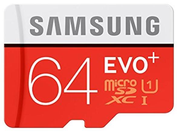 Carte mémoire microSDXC Samsung Evo Plus - 64 Go