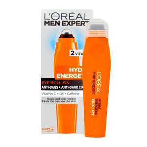 Soin hydradant visage L'Oréal Men Expert Hydra Energetic yeux ou Stop Rides - 50 ml