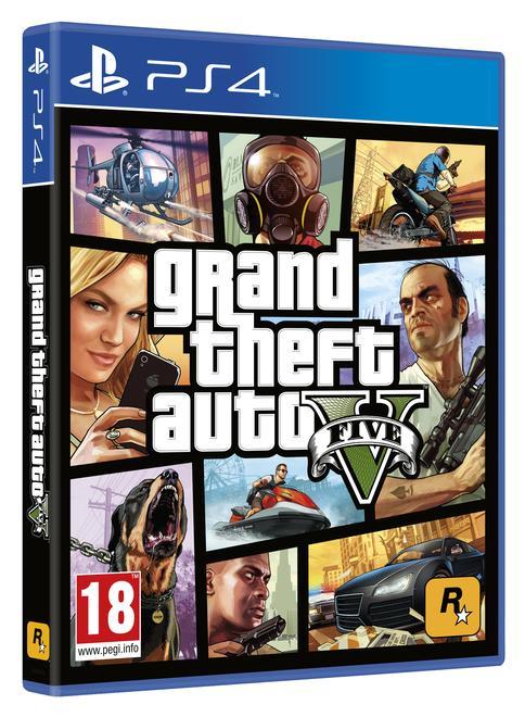 Grand Theft Auto V - (+ 2,5 millions de dollars à dépenser dans le jeu) sur PS4 ou Xbox One