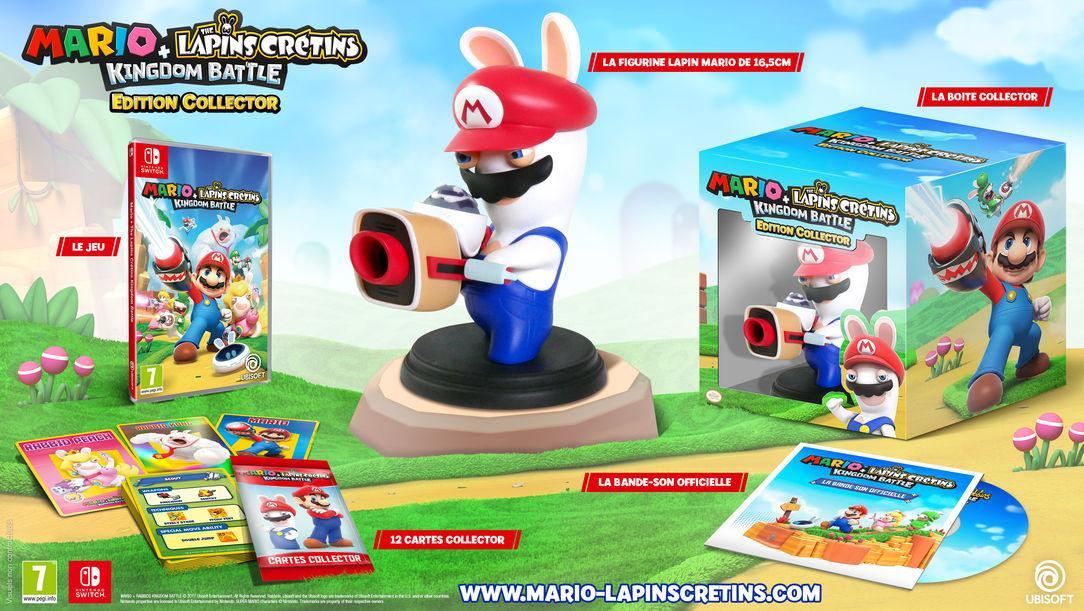 [Club Ubisoft] Précommande : Mario + Rabbids Kingdom Battle - Collector Edition (avec 100 Clubs Units)