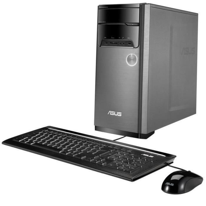 Pack ordinateur Asus M32BC-FR004T (FX-6300, R5-235X, 4 Go de RAM, 1 To + 128 Go en SSD) + clavier / souris