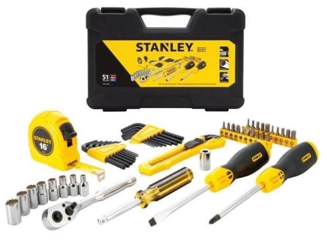 Coffret à outils Stanley - 51 pièces