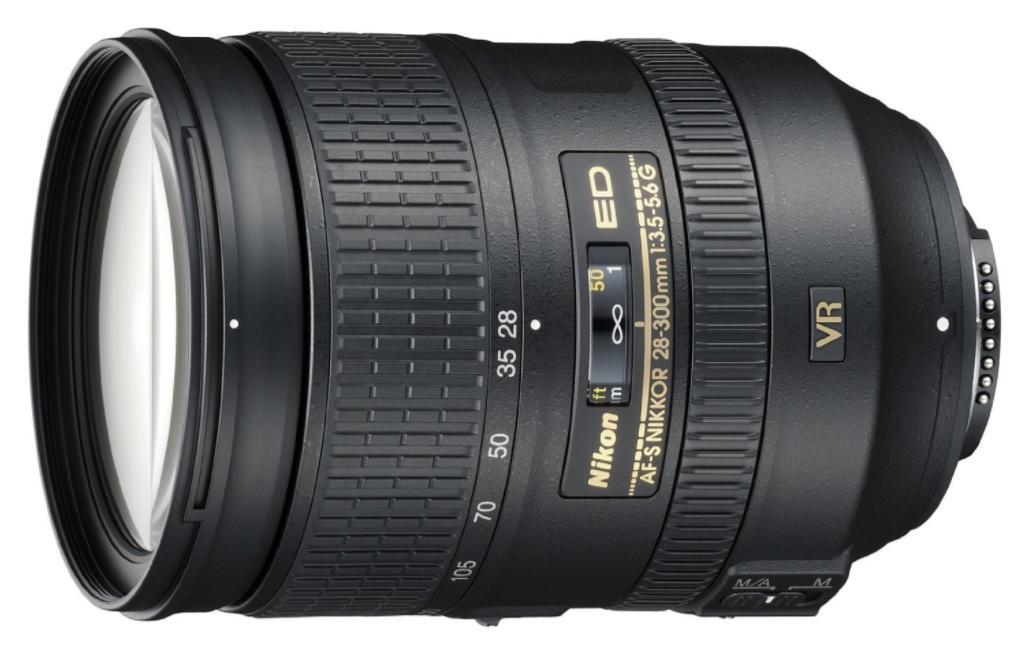 Objectif Nikon AF-S 28-300mm F3.5-5.6 G ED VR