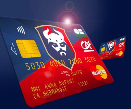 [Possesseurs Carte MasterCard] Carte de crédit MasterCard aux couleurs du stade Malherbe de Caen gratuite