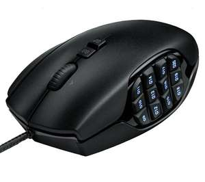 Logitech G600 MMO Gaming Mouse Black (30,99€ avec buyster) 1 code League of Legends offer