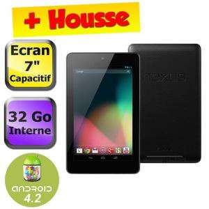 Google Nexus 7 32Go (2012) + Housse (-10e en payant par Buyster)