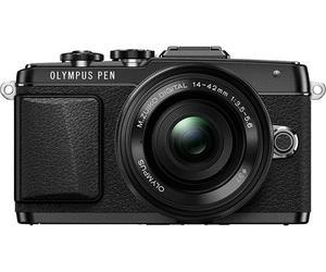 Pack appareil photo compact à objectif interchangeable Olympus Pen E-PL7 (16.1 Mpix, blanc ou noir) + objectif Pancake 14-42 mm EZ