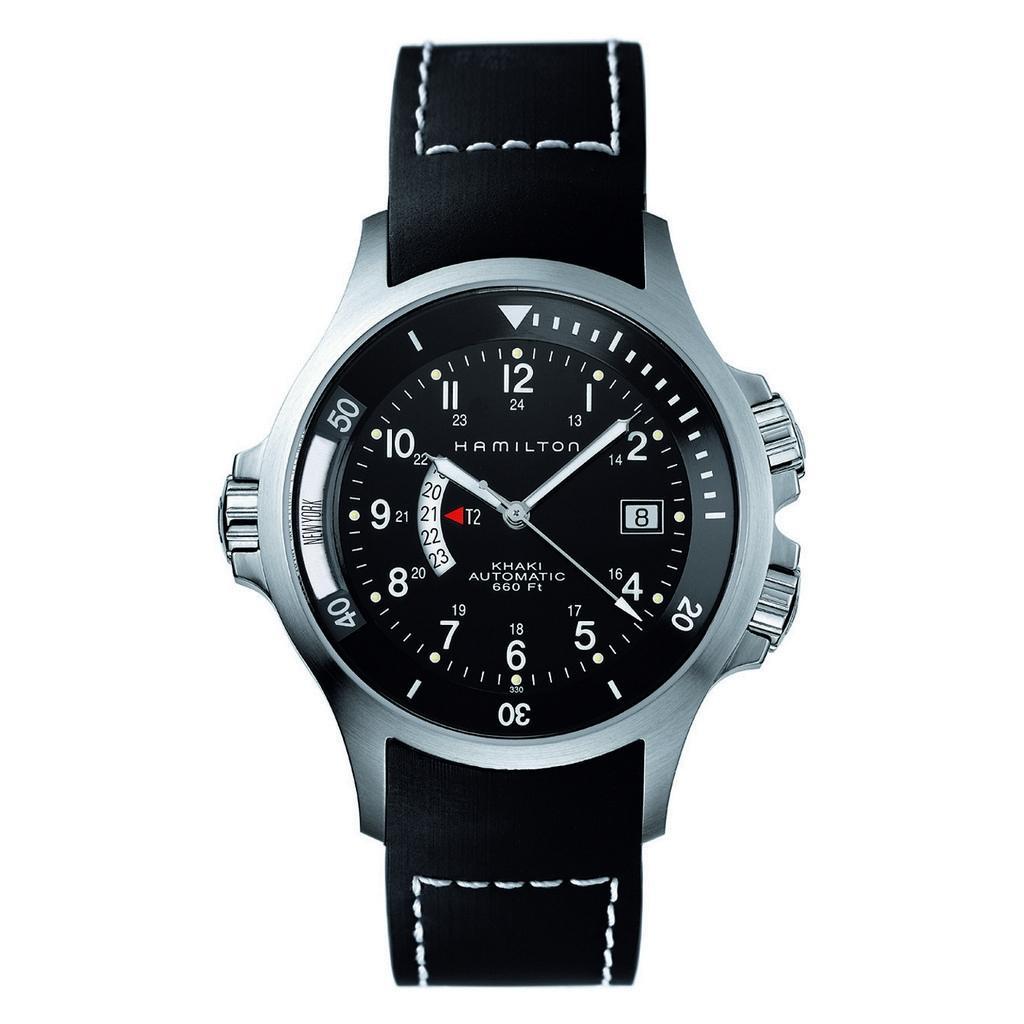 montre Hamilton Khaki Navy GMT Auto