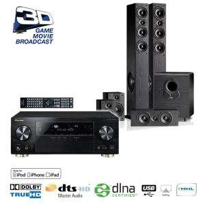 Pack Ampli 7.2 Pioneer VSX-923-K + Home Cinema 5.1 JBL