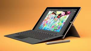 "Tablette 12,3"" Microsoft Surface Pro 4 - i5-6300U, 8 Go RAM, 256 Go SSD + Type Cover - Noir"