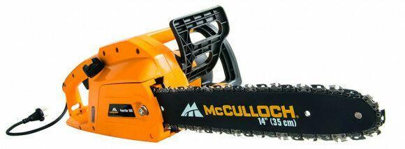Tronçonneuse électrique Powermac 1600 - MC Culloch + 1 chaîne supplémentaire offerte