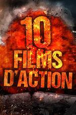 Pack de 10 films d'action en HD