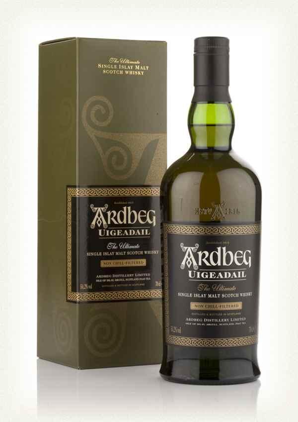 Bouteille Whisky de Ardbeg Uigeadail - 70 cl