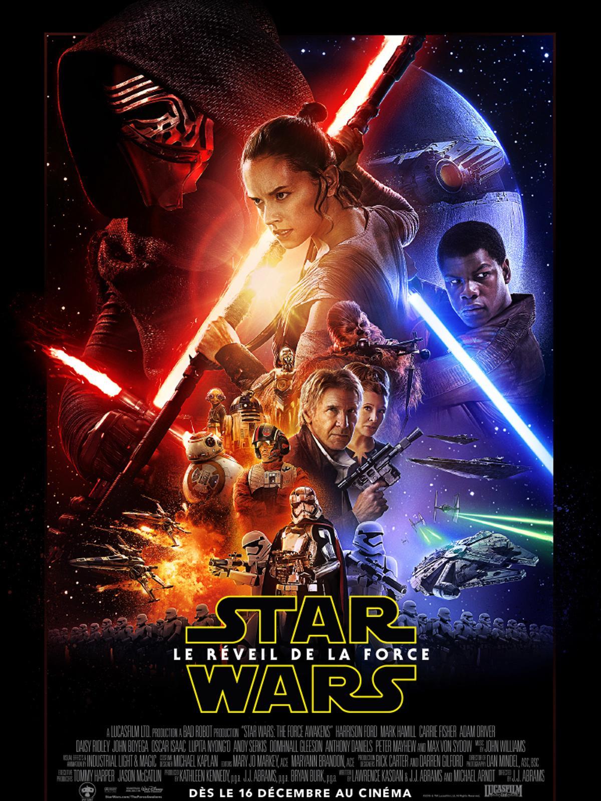 Sélection d'activités et animations gratuites - Ex : projection du film Star Wars : Le Réveil de la Force