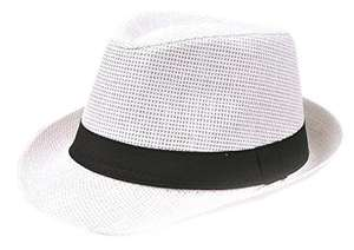 Chapeau de paille Leisial Panama (blanc) - frais de port inclus