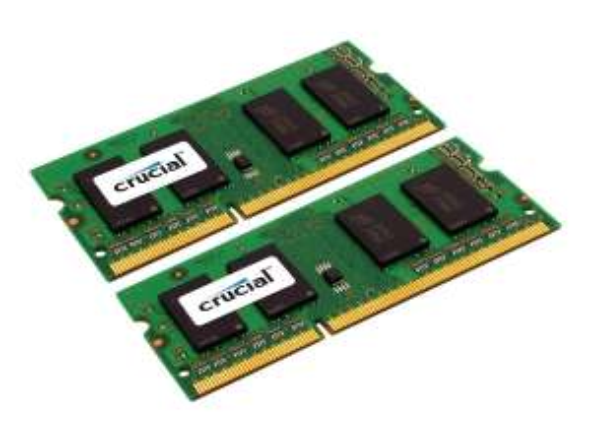 Kit mémoire Ram SODDIM DDR3L Crucial 16 Go (2x8Go) - 1600Mhz, CL9