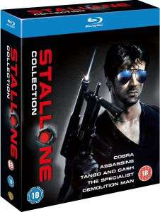 Coffret The Sylvester Stallone Collection - 5 Blu-ray